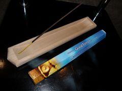 送料無料☆日本製☆大工さん手作り木製お香立て☆インセントバーナー29cm