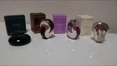 ブルガリBVLGARIミニ香水3点プラスAQUAミニ香水セット☆新品