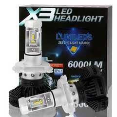 LEDヘッドライト hi/lo H4 PHILIPS高品質チップ搭載