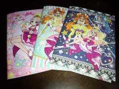 Go!プリンセスプリキュア♪ミニノート♪3冊♪