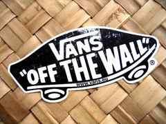 非売品VANS OFF THE WALLステッカー/スケートボードサーフボードスノーボード