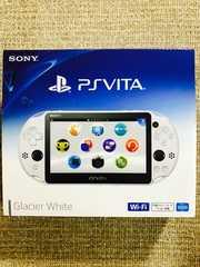 PlayStationVita Wi-Fiモデル グレイシャーホワイト PCH-2000