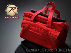 ROTHCO社製・メカニックツールバッグ大・赤レッド・新品