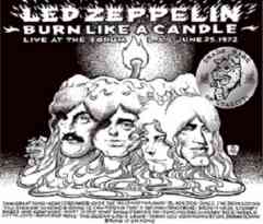 LED ZEPPELIN/    BURN LIKE A CANDLE (3CD) 限定200