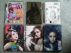 安室奈美恵【LIVESTYLE2006/PLAY2007BEST2008PAST/SPACE】DVD6枚