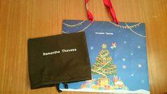 サマンサタバサ クリスマス ショップ袋大 布袋