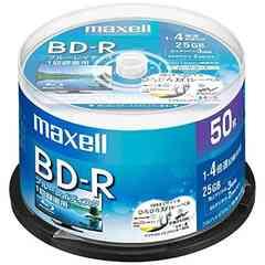 【大人気】maxell 録画用 BD-R 標準130分 4倍速