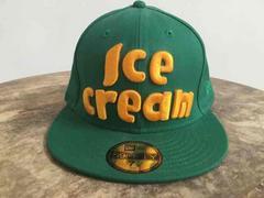 おしゃれ! New era 緑 グリーン cap 59.6センチ