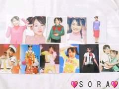 【加護亜依】プロマイドコレクション.フォト.生写真11枚セット�A