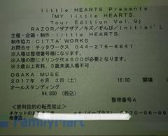 良番☆6/3 大阪MUSE  RAZOR/ザアザア/キズ/ぞんび/Initial'L