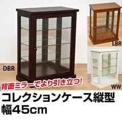 コレクションケース 縦型 DBR/WW