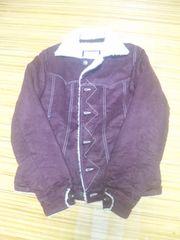 ボアジャケット 紫 サイズL 美品