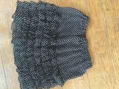 フリフリ水玉スカート