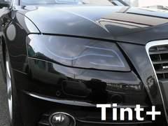 Tint+再利用OKアウディA4セダン/アバント8K前期ヘッドライト スモークフィルム