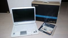 【美品】SONY Core2Duo 2.1GHz 1GB 160GB Vista VGN-NR72B