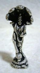☆即決☆白銅製 ヴィシュヌ像2 豆仏像
