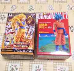 ドラゴンボール・DXF・フィギュア・超サイヤ人3孫悟空・ゴッド