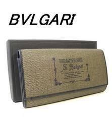 期間限定!ブルガリ★長財布★グレーw213