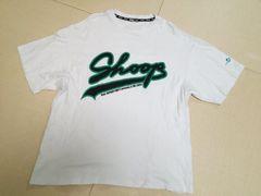 Shoop◆シュープデカロゴBIGTシャツ白XL◆ダンスHIP HOP