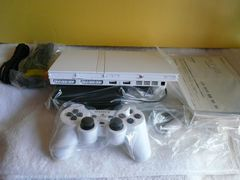 Play Station「PS2(SCPH-70000CW)+周辺機器+中古ソフト」(14)