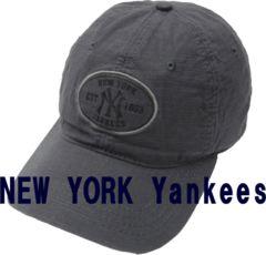New York Yankees ウォッシュ コットン Cap 帽子 紺 M466