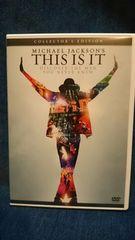 THIS IS IT マイケル・ジャクソン DVD