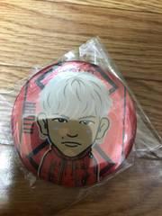 J.S.B. 赤Ver. 三代目J Soul Brothers NAOTO モバイル缶バッジ