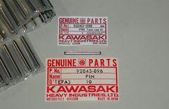 H1 KH H2 S1 S3 Z1 Z2 Z400 タンクキャップピン 絶版新品
