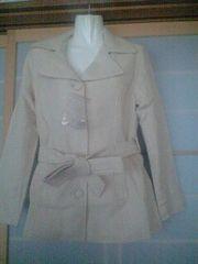 新品フェリシモLショートジャケット オフホワイト