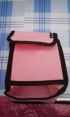 新品 ピンクの収納バッグ