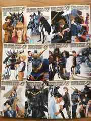 ガンダムW/DVD/全12巻+4本/計16本セット