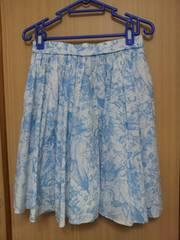 INTERPLANET 花柄スカート サイズ:36