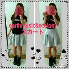 アースミュージックアンドエコロジー スカート Sサイズ