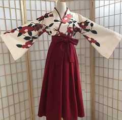 紅椿 和装 袴セット レター発送