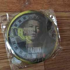HiGH&LOW THE LIVE DOBERMAN INFINITY KAZUKI チェンジング缶バッジ