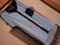 100スタセール*ナイスクラップ*透け感ブラウス☆夏に*定形外140円