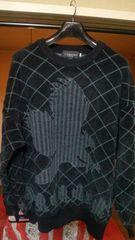 コルシーニ〓CORSINI UOMO ITALY 日本製 毛〓wool混 セーター 4L