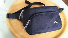 新品未使用★Championウエストバッグ黒★軽量強い