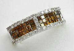 K18WG 合計 1.00ct ダイヤモンドリング 12号 指輪