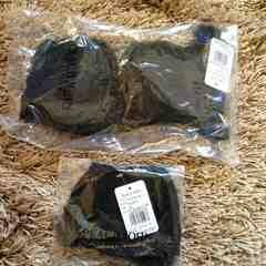 PJ新品マストアップレーヴブラパンティセット32Bブラック黒