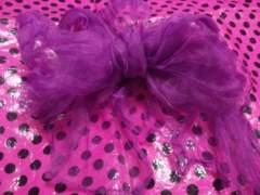 夏祭り限定sale♪EarthRoniJenniAnapスキ姫新品紫シフォン浴衣帯�A