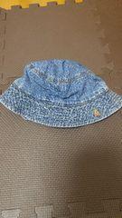 baby Gapデニムハット帽子くま刺繍
