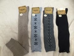 新品&即決.暖かい素材靴下4足SET.可愛いデザイン