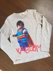 H&M×LEGO☆スーパーマン長袖Tシャツ・新品