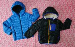 子供服2点セット/ユニクロ/COUSIN/ダウンジャケット/上着/120cm