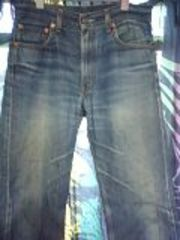 おすすめリーバイス505激色落ちジーンズ