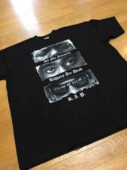 LA直輸入 2pac&BYGGY デザインプリントサイズ3XLtシャツ 黒