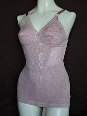 新品!A75Mピンク色ジャガード織ボディシェイパー