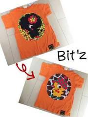 新品タグ付き*Bit'z*2wayアップリケTシャツ*120