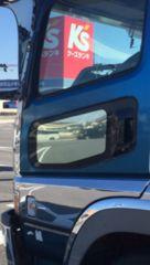 NEWスーパーグレート 安全窓  鏡面 600番 レトロ デコトラ